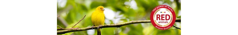 Prodotti e integratori alimentari naturali per uccelli.