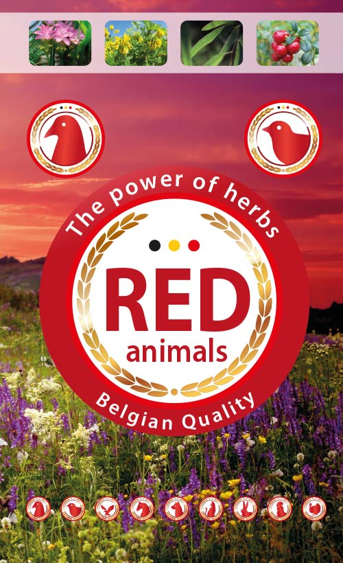 Red Animals - Natural products